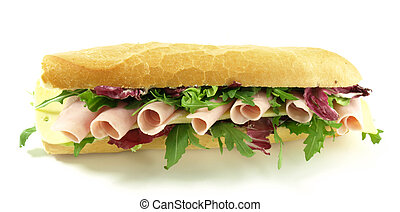 Close-up of tasty sandwich