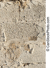 Close Up of Textured Concrete Masonry Wall for Backgrounds