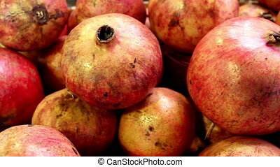 Close up of the eco red guava - Close up of the red guava...