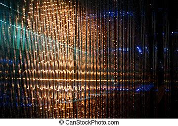 Close-up of the Matrix of a Screen