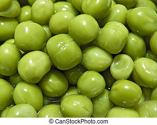 green pea - Close up of the scatter rich green pea