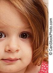 Close up of Toddler