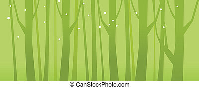 Close-up of tree woods - This illustration is a common...