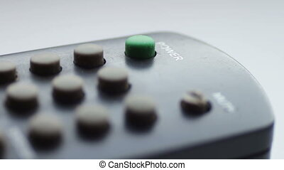 Close up Of TV Remote