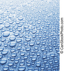 Close-up of water drops