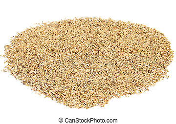 Close up of wheat grains