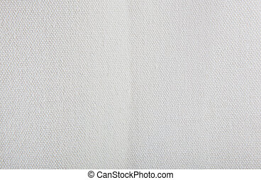 Close-Up Of White Textile Background