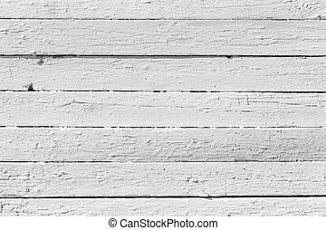 Close-up of white wooden plank