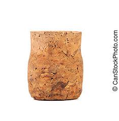 Close up of wine cork.