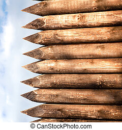 Close up of Wood Background