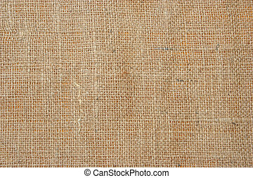 Close-up of woven fabric - Woven detail of textile texture....