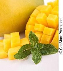 close up on mango