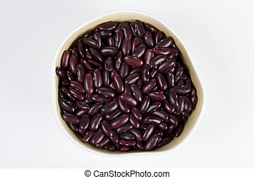 red beans in a cup