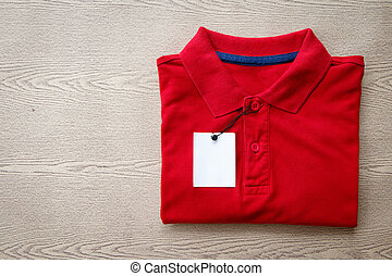 Close up polo shirt