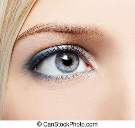 eye-zone make-up