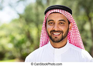 arabian man outdoors