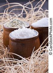 Close up Salt