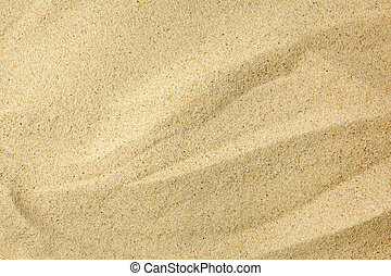 Close up sand texture. Full frame background. Top view