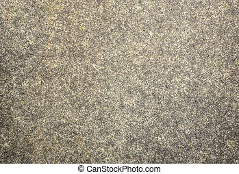 Close up shot of a granite structure
