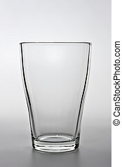 product shot of an empty water glass