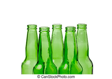 green bottles for recycling