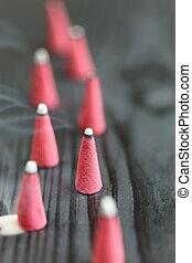 Incense sticks - close up shot of Incense sticks
