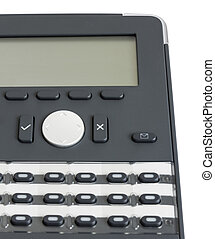 close up shot of modern business phone