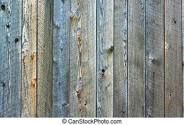 Close Up Shot Of Wooden Fence