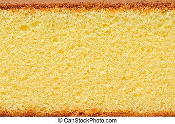 sponge cake - close up sponge cake