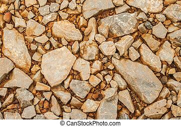 close up stones background