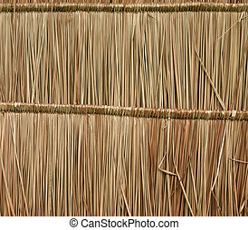 Close up straw background