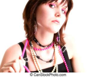 Close Up Teen Girl