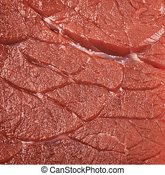 Close-up texture of a raw meat