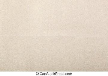 close-up, textuur, papier, oud, bruine