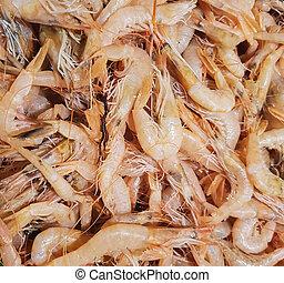 Rose shrimps
