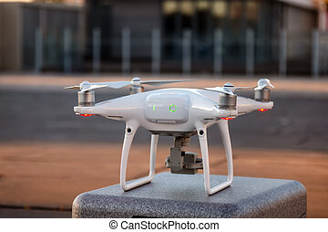 Consumer drone ready to fly