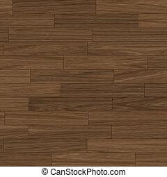 dark brown parquet flooring - close up view of a dark brown...