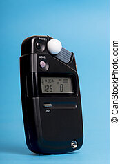 flash meter used in photography studios