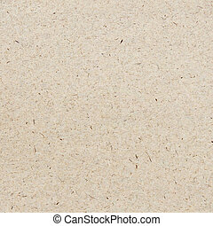 Close-up view of beige craft paper texture background.