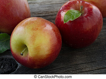 close up view of nice fresh apples