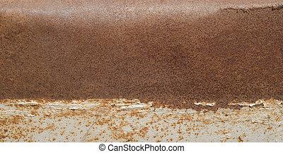 rusty surface
