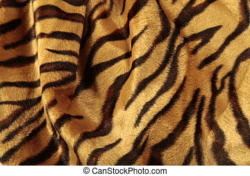 Close-up view of the skin of a leopard