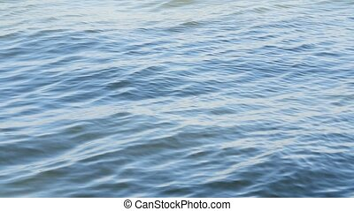 close up view of wavy water surface