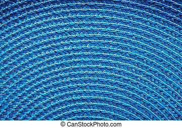 close up view on abstract blue texture