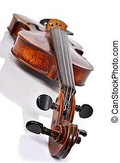 Close up Violin