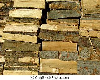woodpile - close-up woodpile