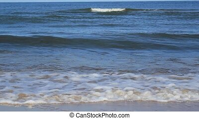 Close Video Shot Of Waves