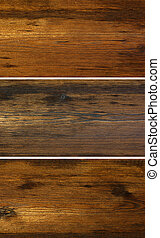 wooden background - Close view of a wooden background