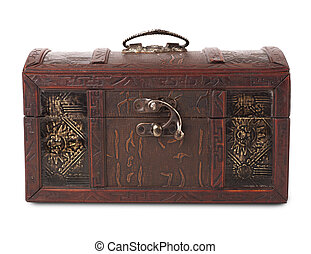 close wooden chest