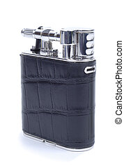 Closed Black Cigarette Lighter
